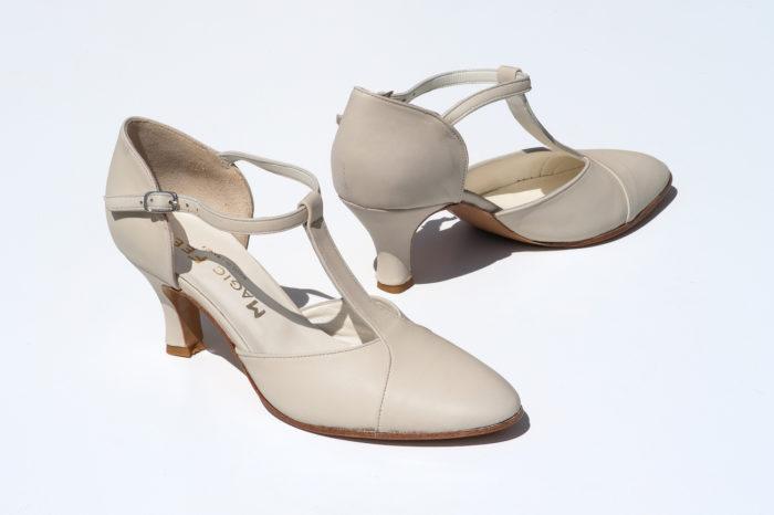 Chaussure carmen beige
