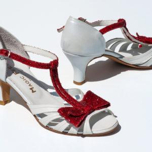 Chaussure danse Chloé blanc