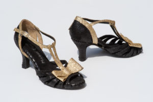 Chaussure danse chloé or
