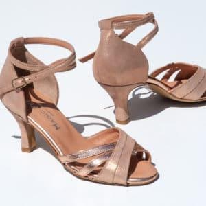 Chaussure danse Mila velours