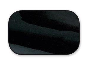 Cuir vernis noir - code 004
