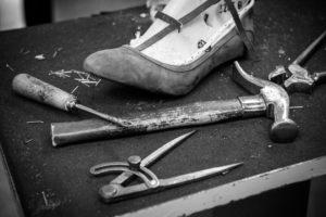 Création de chaussure atelier