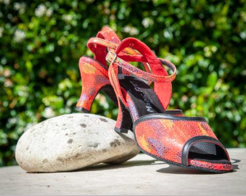 Chaussure danse Latine rougeTanguera